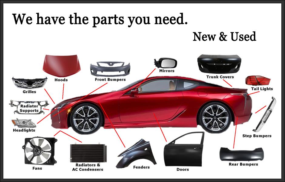 Resultado de imagen de car parts